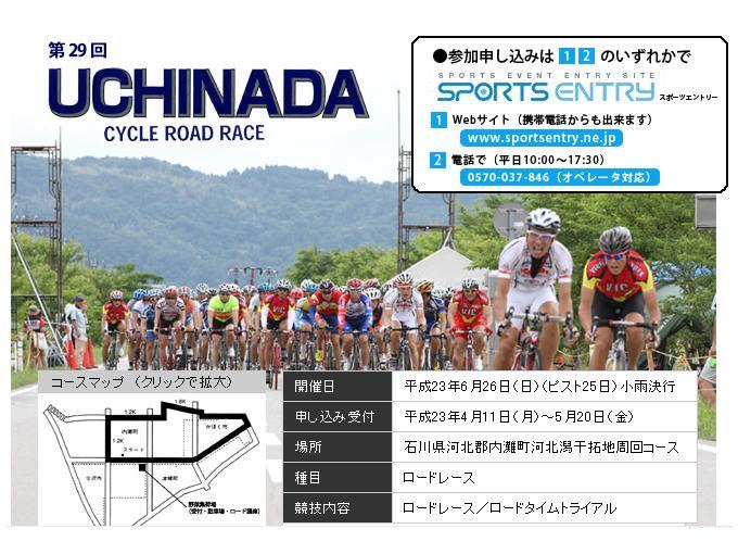 内灘サイクルロードレース