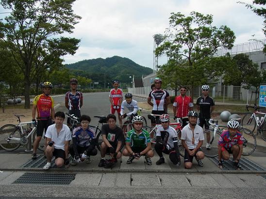 お盆のサイクリング